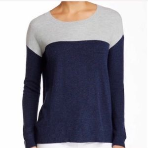 JOIE Camilla Colorblock Sweater Medium